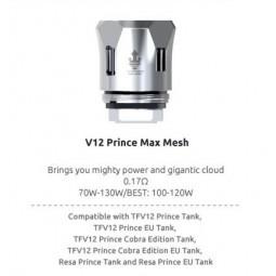 SMOK V12 Prince Max Mesh 0.17 Ohm